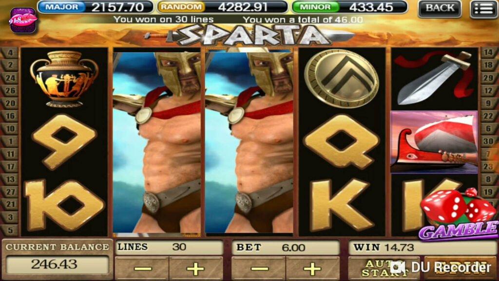 918kiss Sparta Slot