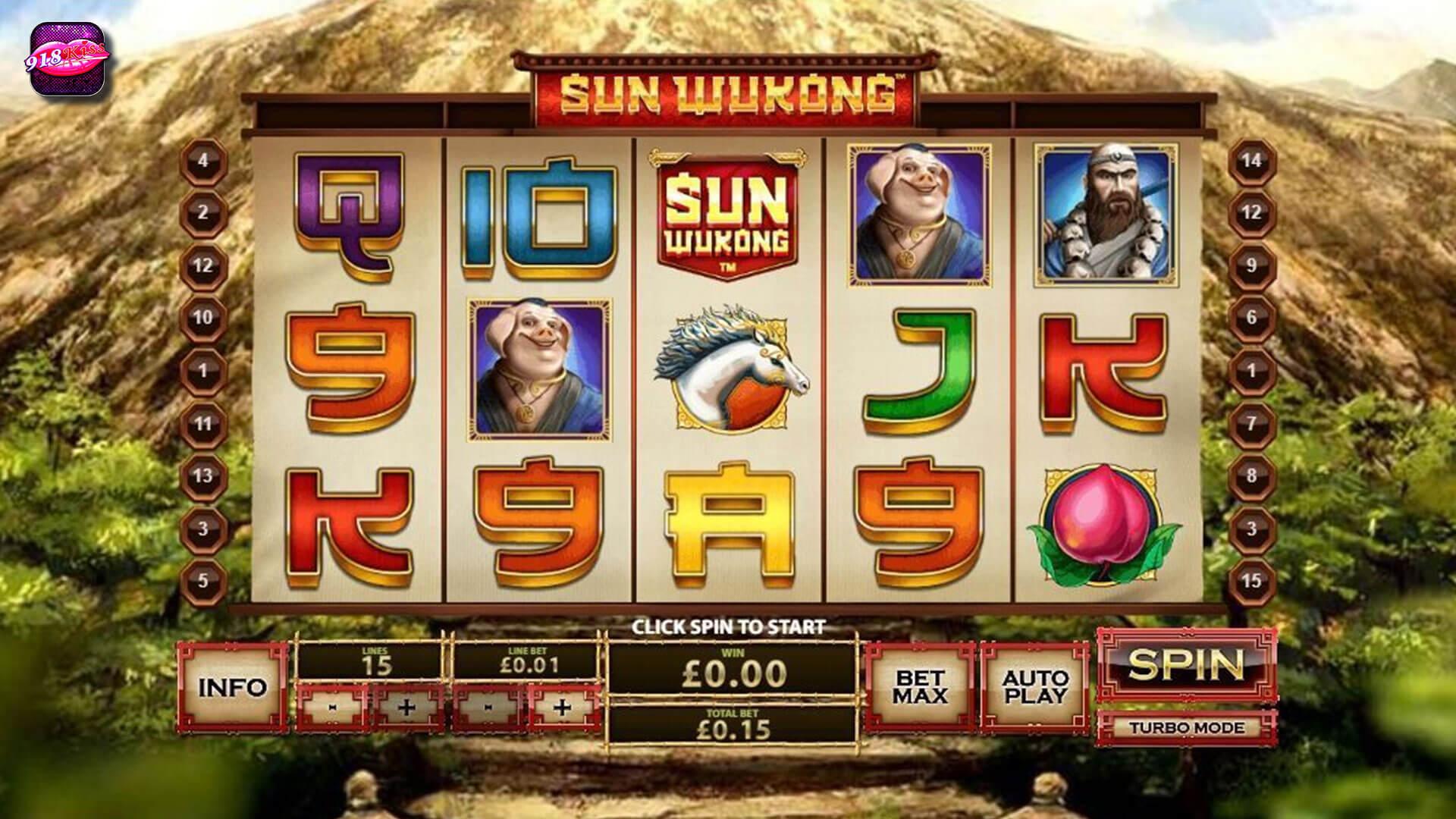 Sun Wukong Slot